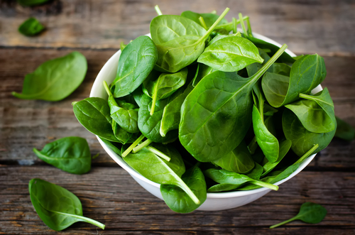 Organic Bloomsdale Spinach from West Central Food Service
