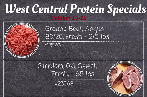 Protein and Meat Specials