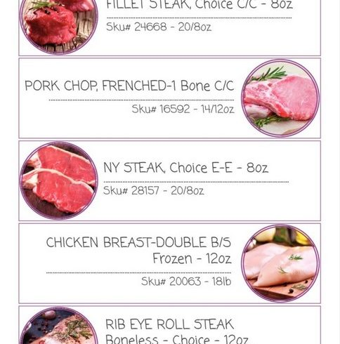 Jan and Feb 2018 Protein Specials