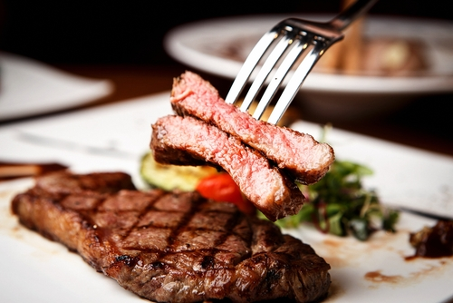 Steak and meats from West Central